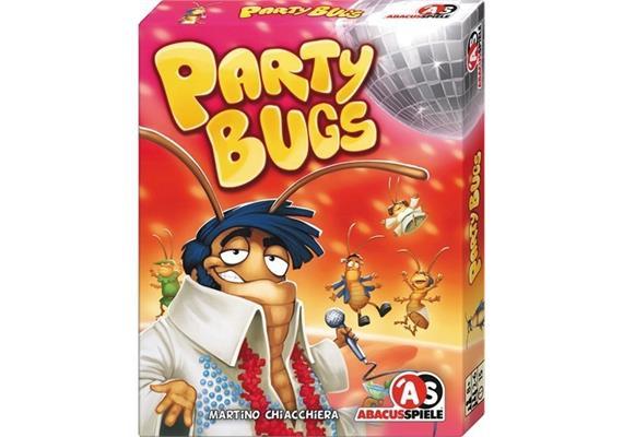 Abacus Spiele Party Bugs  Spiel des Monats August/September 2018