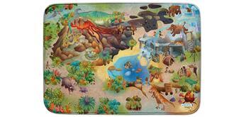 Achoka - Spielteppich Dino 100 x 150 cm ultrasoft