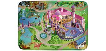 Achoka - Spielteppich Prinzessin100 x 150 cm ultrasoft