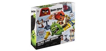 ANGRY BIRDS Pig City Build n Launch Spielset