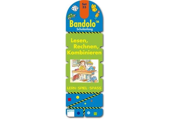 Arena Bandolo Set 55, Lesen, Rechnen, Kombinieren
