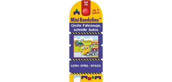 Arena Mini Bandolino Set 79. Grosse Fahrzeuge, schnelle Autos