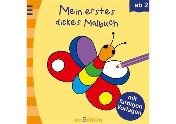 Ars Edition Malbuch ab 2: Mein erstes dickes Malbuch