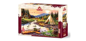 Art-Puzzle 5520 Camping Friends 3000 Teile