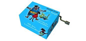 """art & music Spieluhr """"Jim Knopf"""" blau"""