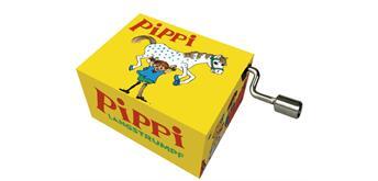"""art & music Spieluhr """"Pippi Langstrumpf"""" gelb"""