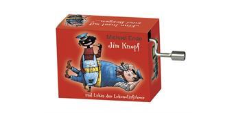 """art&music Spieluhr """"Jim Knopf"""" rot"""