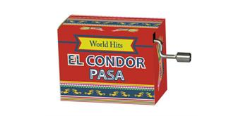 "art&music Spieluhr World Hit ""El Condor Pasa"""