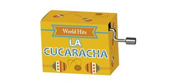 "art&music Spieluhr World Hit ""La Cucaracha"""