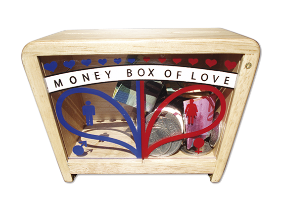 Asiaspiel Moneybox of Love
