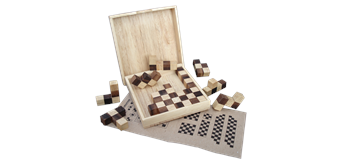 Asiaspiel Schachbrett-Puzzle