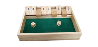 Asiaspiel Shut the Box