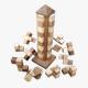 Asiaspiel Turmpuzzle