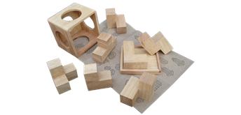Asiaspiel Würfel-Puzzle