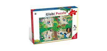 ASS - Puzzle Globi im Zoo, 100 - teilig