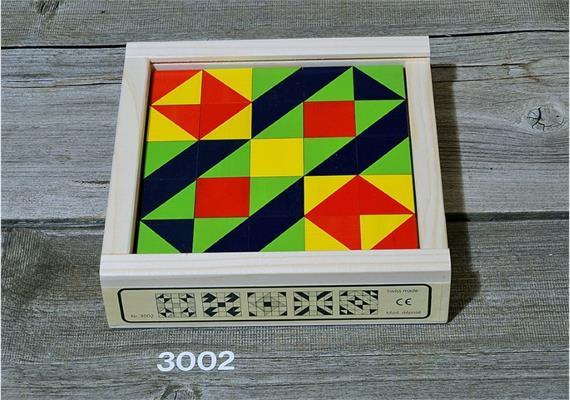 Atelier Fischer 3002 Klötzlimosaik 25-teilig