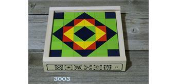 Atelier Fischer 3003 Klötzlimosaik 36-teilig