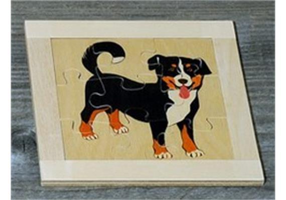 Atelier Fischer 6010 Puzzle Haustiere 9-teilig - Hund