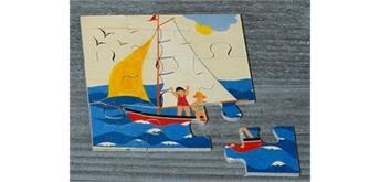 Atelier Fischer 6012 Puzzle Fahrzeuge 9-teilig Segelschiff