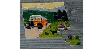 Atelier Fischer 6031 Puzzle Swiss 16-teilig - Postauto