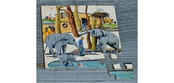 Atelier Fischer 6032 Puzzle Zoo - Elefanten