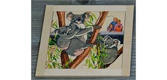 Atelier Fischer 6032 Puzzle Zoo - Koala Bär