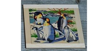 Atelier Fischer 6032 Puzzle Zoo - Pinguine