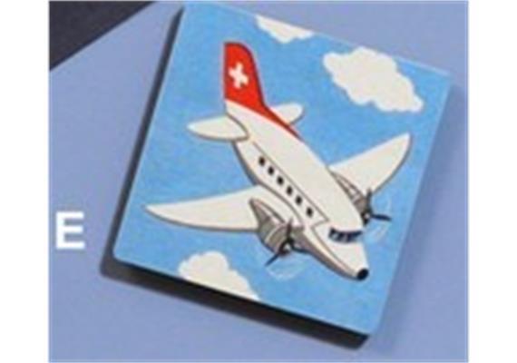 Atelier Fischer 6900E Magnet Flugzeug