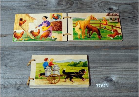 Atelier Fischer 7001 Holzbüechli Bauernhof