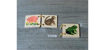 Atelier Fischer 7006 Holzbüechli Kleintiere mini