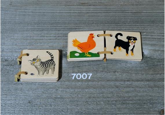 Atelier Fischer 7007 Holzbüechli Haustiere mini