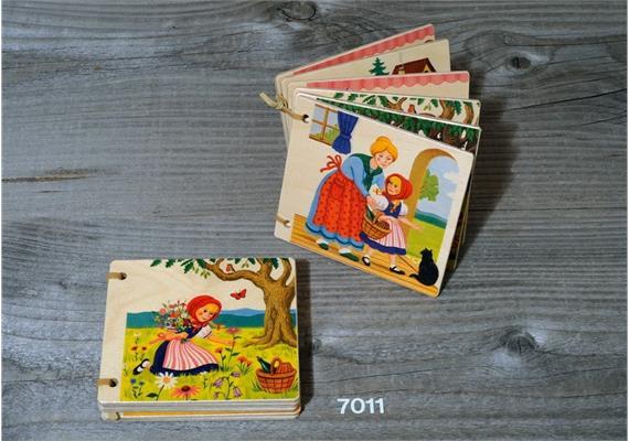 Atelier Fischer 7011 Holzbilderbuch Rotkäppchen