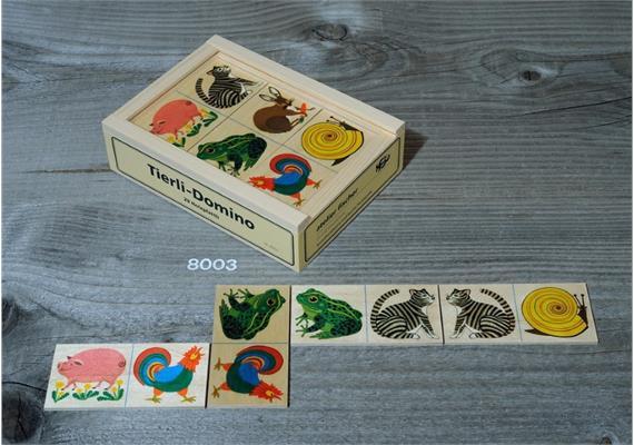 Atelier Fischer 8003 Tier-Domino