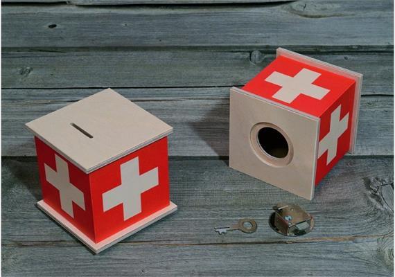 Atelier Fischer 9010 Spardose Swiss
