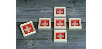 Atelier Fischer 9110 Geduldspiel Swiss / Schweizerkreuz