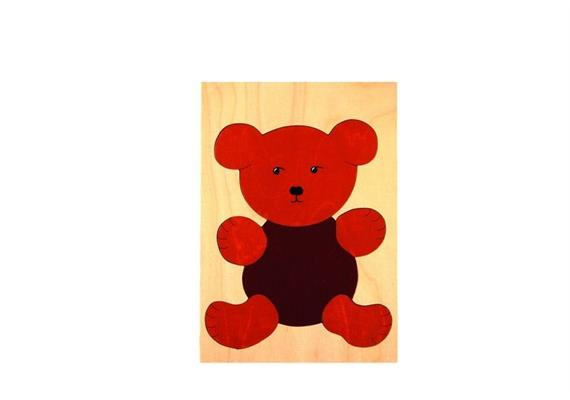 Atelier Passage 122-06 Puzzle Teddybär braun