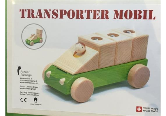 Atelier Passage 211-04 Transporter Mobil grün
