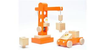 Atelier Passage 212-08 Kran Mobil Set orange