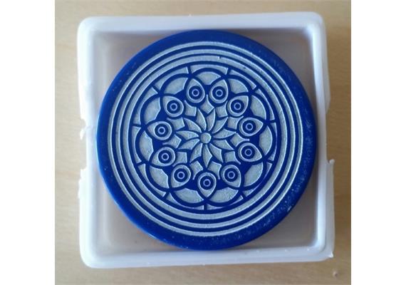 Atelier Radscha Carrom Striker Turnier - 41,7 mm; 15 gr. Blau