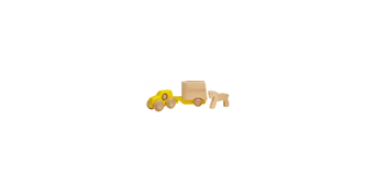 Bajo Toyota mit Pferd, gelb