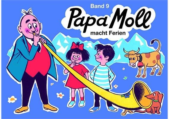 Band 09 Papa Moll macht Ferien
