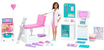 Barbie Gute Besserung Krankenstation Spielset mit Puppe