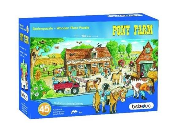 Beleduc Boden Puzzle Pony-Farm 3+