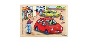 Beleduc Lagen Puzzle Autowerkstatt