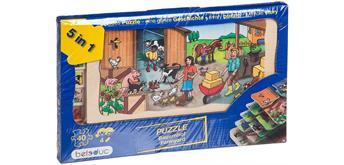 Beleduc Lagen Puzzle Bauernhof