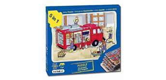 Beleduc Lagen Puzzle Feuerwehr