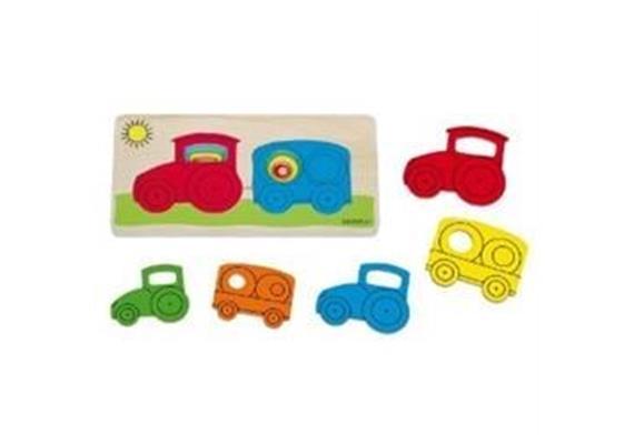 Beleduc Lagen Puzzle Traktor