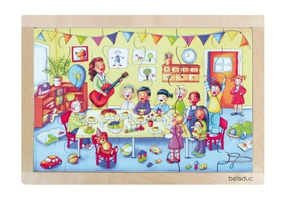 Beleduc Rahmenpuzzle Kindergeburtstag 3+