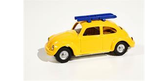 Blechfabrik - VW Käfer mit Skiern