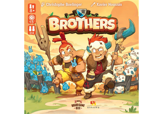 Board Game Box - Brothers